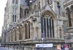 Truro Cathedral: orgiinal parish church now part of fabric of Cathedral